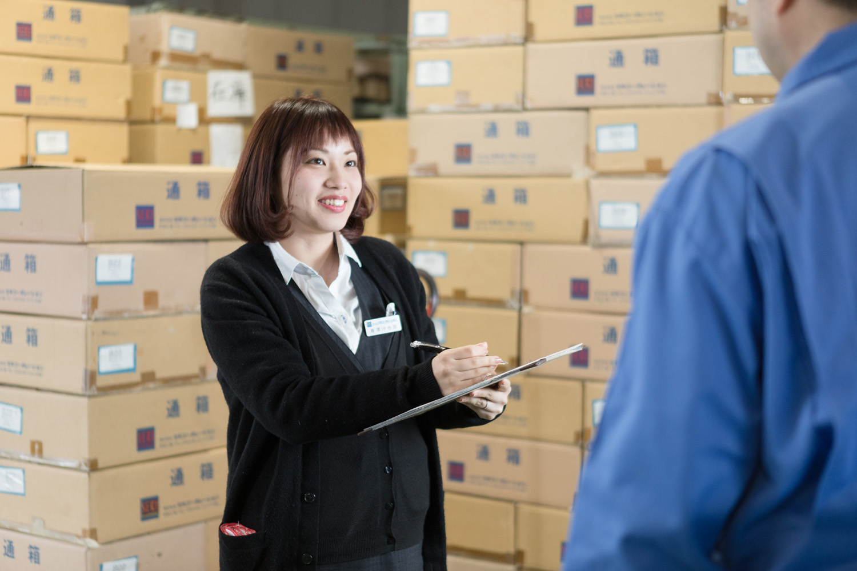 生産管理のインタビュー写真